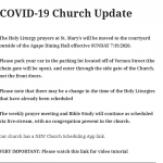 COVID-19 Church Update